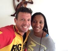 Selfie met Deborah Gravenstijn